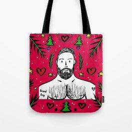 Beard Boy: Xmas Daddy Tote Bag