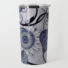 Denim Blues Travel Mug