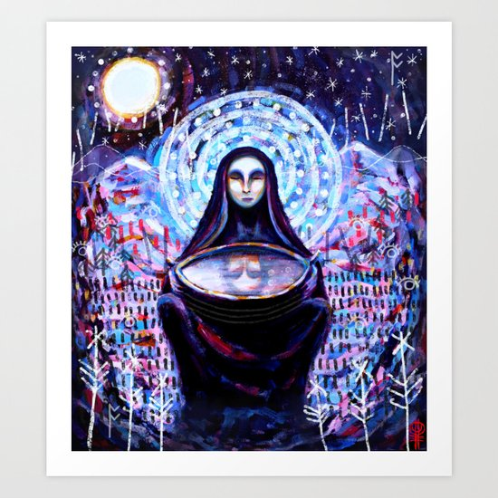 The Oracle (special edition) Art Print