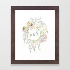 sugar tooth Framed Art Print