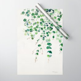 Eucalyptus Watercolor Wrapping Paper