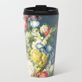 Floral Tribute to Louis McNeice Travel Mug