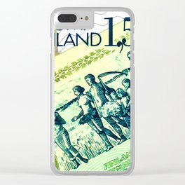 Banknote 5 Clear iPhone Case