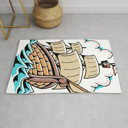 That Go Little Boys' Pirate Ship Rug