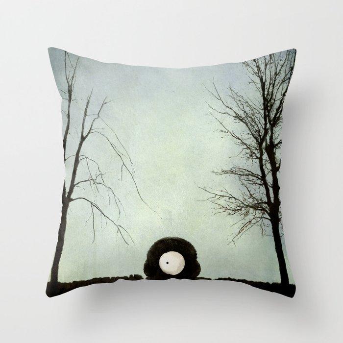 Occhei Throw Pillow