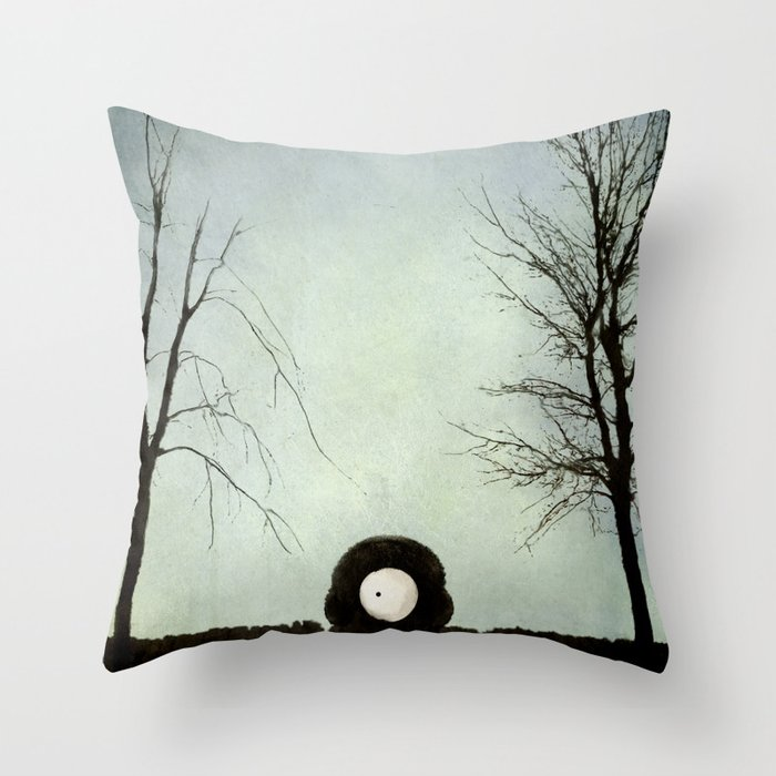 Occhei Throw Pillow