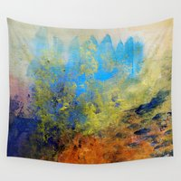 illusion Wall Tapestries featuring Illusion by Christine Scurr