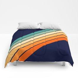 Farida - 70s Vintage Style Retro Stripes Comforters