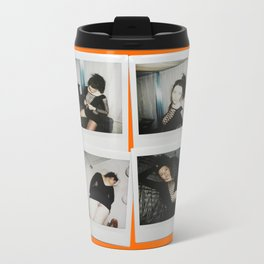 Polaroids Metal Travel Mug