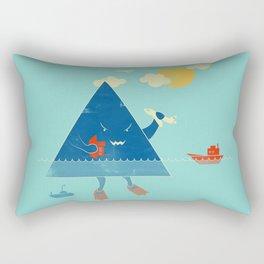 Bermuda Triangle Rectangular Pillow