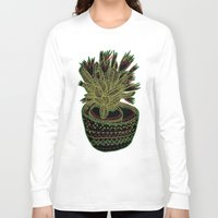 plant Long Sleeve T-shirts featuring Plant by Ali Hunter