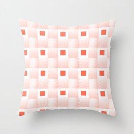 Rachel's Wavy Coral Pattern Throw Pillow