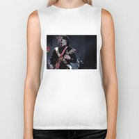 jack white Biker Tanks featuring Jack White Airline Satan by Christopher Chouinard
