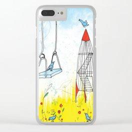 Rocket Playground, Nebraska Memory Clear iPhone Case