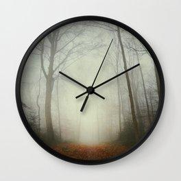 fog trail Wall Clock