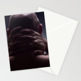 Sad man Stationery Cards