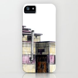 GALLERY SQUARE CHALET iPhone Case