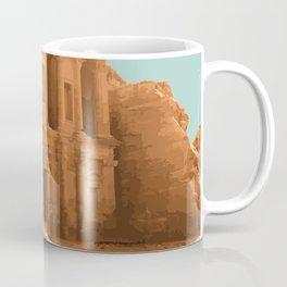 Petra, Jordan Artwork Coffee Mug