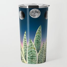 sansevieria watercolor Travel Mug