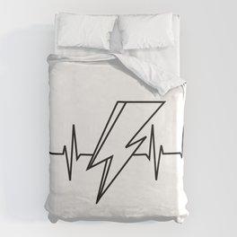 Bowie Heartbeat Duvet Cover