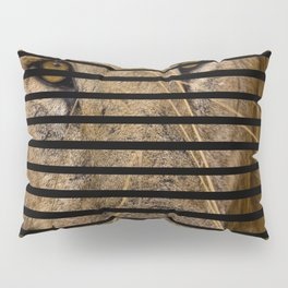 This is quite obviously a lion. Pillow Sham
