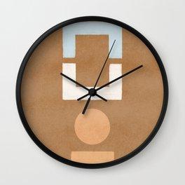 Geometrical balance - minimalist design Wall Clock