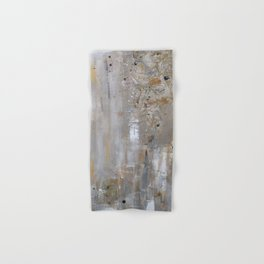 Silver and Gold Abstract Hand & Bath Towel