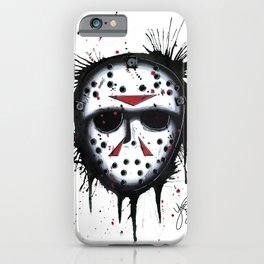 The Horror of Jason iPhone Case