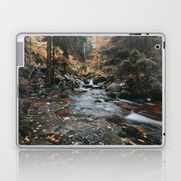 Autumn Creek - Landscape and Nature Photography Laptop & iPad Skin