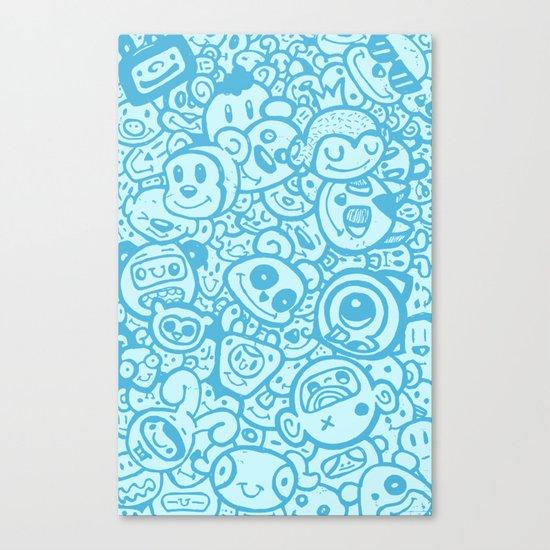 #MoleskineDaily_09 Canvas Print