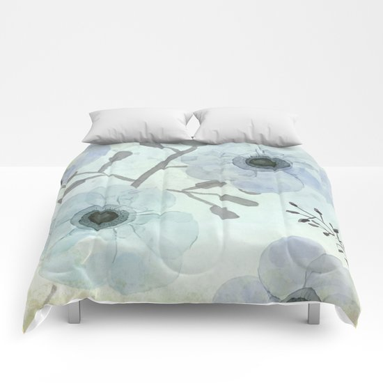 Anemone Blue Comforters