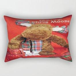 Merry Chris Moose Rectangular Pillow