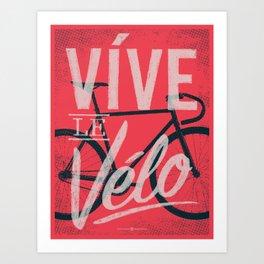 Vive Le Velo 2011 Art Print