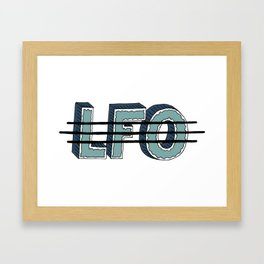 LFO Framed Art Print
