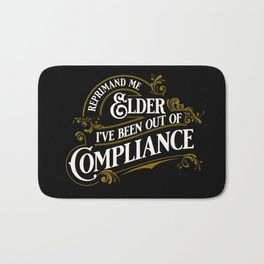 Reprimand Me Bath Mat