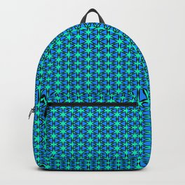Teal Starry Night Backpack