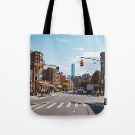 Downtown New York Tote Bag