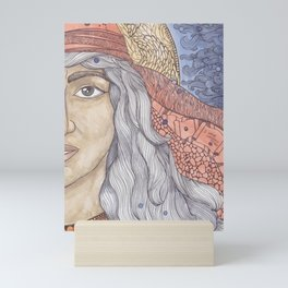 Huldah Mini Art Print
