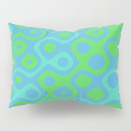 Brain Coral Green Banded - Coral Ree Series 020 Pillow Sham
