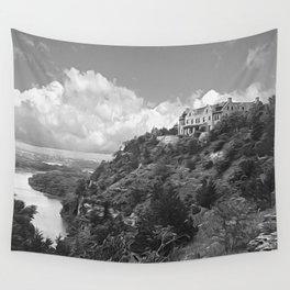 Ha Ha Tonka-Black and White Strokes Wall Tapestry