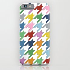 Houndstooth Colour iPhone 6s Slim Case
