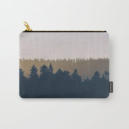 Woods Abstract Carry-All Pouch