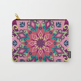 Mandala Bloom Carry-All Pouch