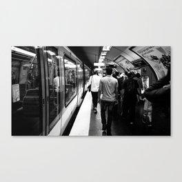 Subway - Charles de Gaulle Canvas Print