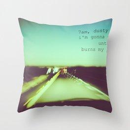 M83 7AM Drive Throw Pillow