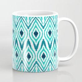 Ikat Jade Coffee Mug
