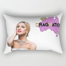 Dragnation QLD Season 3 Natasha St James Rectangular Pillow