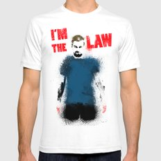 I'm the Law Mens Fitted Tee White SMALL