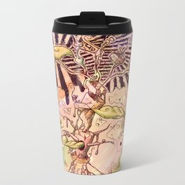 Magic Beans (Alternate colors version) Metal Travel Mug