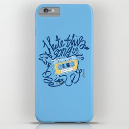 Sad song iPhone Case